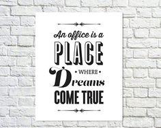 KAUFEN Sie 2 GET 1 freie Typografie-Print, das Office-Zitat, Tv-Angebot, Michael Scott, die Office-Tv-Show, schwarz weiß Dekor, das Design - Büro Dr.