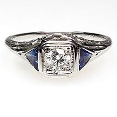 Love this more conservative vintage style ring. I don't want something that will overtake my hand