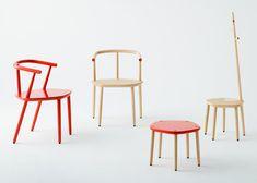 Claesson Koivisto Rune to launch pentagonal wooden furniture