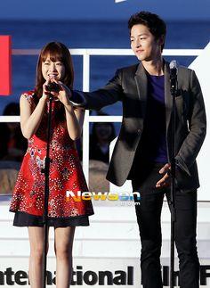 Song Joong Ki claims Park Bo Young is his woman?