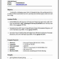 Resume Types 3 Types Of Resume Formats  Resume Format  Pinterest  Resume .