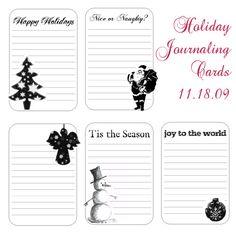 holiday free printable