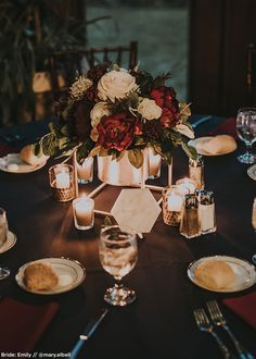 Getting Pretty Wedding Centerpieces; Vital Details In Simple Wedding Flower Decorating - An Update - Diane Smalling Wedding Tips Black Tablecloth Wedding, Wedding Colors, Wedding Flowers, Wedding Greenery, Flower Decorations, Wedding Decorations, Romantic Wedding Receptions, Wedding Ideas, Wedding Inspiration