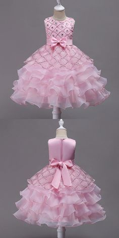 Only $37.9, Cheap Flower Girl Dresses Sleeveless Girls Wedding Party Dress Flower Girl Dress With Bling #QX-582 at #GemGrace. View more special Flower Girl Dresses,Cheap Flower Girl Dresses now? GemGrace is a solution for those who want to buy delicate gowns with affordable prices. Free shipping, 2018 new arrivals, shop now!