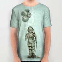 Balloon Fish All Over Print Shirt