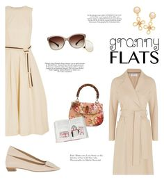 """Granny in Flats"" by igedesubawa ❤ liked on Polyvore featuring Roger Vivier, Brunello Cucinelli, Harris Wharf London, Gucci, Chanel, Dolce&Gabbana, Ippolita, women's clothing, women's fashion and women"