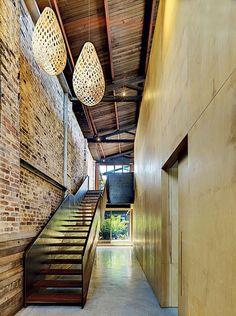 Lilyfield Warehouse by Virginia Kerridge Architect | industrial stairs