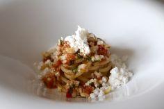 Spaghettoni Rummo al sugo di scorfano