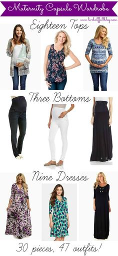 Maternity Capsule Wardrobe & Shopping Favorites