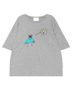 DC Batman  grey marl top tee tshirt