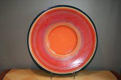 "Van Dop Gallery | Artists | Ceramic: ""Solar Series Earthenware Platter"" by Robert Shiozaki Earthenware, Home Decor Items, Platter, Garden Art, Unique Gifts, Solar, Arts And Crafts, Van, Entertaining"