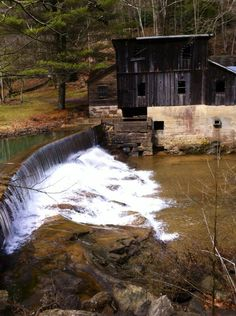 Old Cotton Hill Mill  Fayette County, West Virginia   Courtesy of Paula Johnson