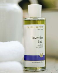 Dr. Hauschka bath oil for moms and babies