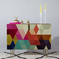 Buy Credenza with Modele 7 designed by Three Of The Possessed. One of many amazing home décor accessories items available at Deny Designs. Ikea Furniture, Dining Furniture, Furniture Makeover, Painted Furniture, Modern Furniture, Furniture Design, Furniture Buyers, Furniture Stores, Luxury Furniture