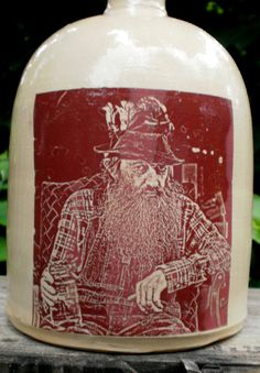 Popcorn Sutton moonshine jug by MoonshineJug on Etsy, $32.00