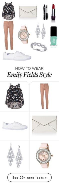 """Emily Fields"" by katelynkestle on Polyvore featuring Erdem, Brunello Cucinelli, Ted Baker, Lancôme, Rebecca Minkoff, Carolee, Jin Soon and Allurez"