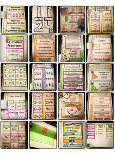 This set of interactive notebook activities will engage and excite your students all year. This mega-bundle includes a full set of activities to address EACH and EVERY 4th Grade Common Core math standard! Each standard has an I Can Statement and Vocabulary flapbook with definitions, along with a collection of flippable, foldable, and FUN interactive notebook elements. The activities are designed to review important concepts and dig deeper into each standard. $