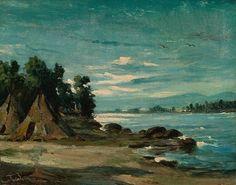 Frank Buchser - Indian River Landscape