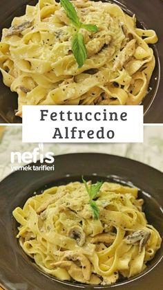 How to make Fettucini Alfredo recipe? Fettucini in the book of 3 .- How to make Fettucini Alfredo recipe? Fettucini in the book by people … – How to make Fettucini Alfredo recipe? Here is the illustrated description of the Fettucini Alfredo-R – - Yummy Recipes, Great Recipes, Dinner Recipes, Yummy Food, Alfredo Recipe, Dinner Tonight, Italian Recipes, Deserts, Diet