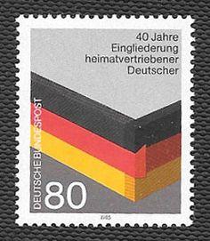 Germany - 1985 - 40 Jahre Eingliederung heimatvertriebener Deutscher