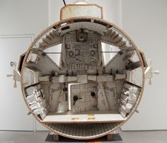 Tom Sachs - spaceship cockpit, interior view