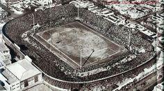 El Viejo Gasometro casa del Club Atlético San Lorenzo de Almagro, 1920.