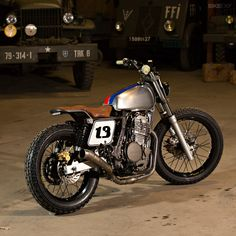 The Honda NX650 Dominator gets an extreme makeover from Simon Garcia, a talented French builder living in Australia.
