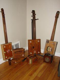 More Cigar Box Guitars