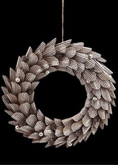 Platinum Glitter Wreath *** You can find out more details at the link of the image.
