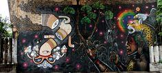 O grafiteiro Thiago Alvim vem embelezando as ruas de Belo Horizonte. Abaixo separamos algumas de suas obras.