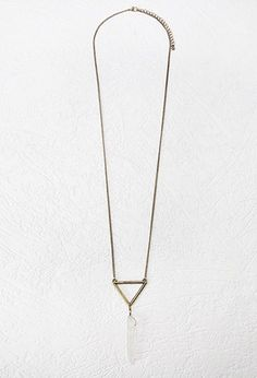 Accessories - Jewelry - Necklaces - Stone + Crystal | WOMEN | Forever 21