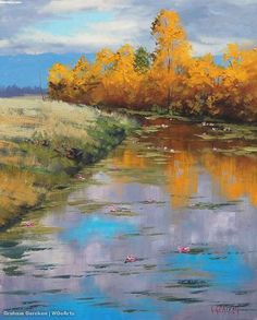View Paintings of Artist Graham Gercken | Australia - WOoArts©