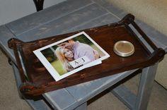 Wooden farmhouse style tray... great gift idea!