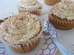 Cupcakes cappuccino / chocolate branco