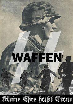 """Waffen-SS slogan """"Meine ehre heißt treue"""" (My Honor is Loyalty.)"""