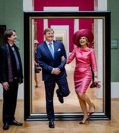 Guillermo y Máxima de Holanda… ¡se salen!