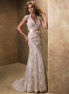94a9a4cc15 V-dekolt Trąbka Syrena Tiul Suknie ślubne  USAHSMG049 Lace Bridesmaid  Dresses