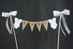 baby shower cake bunting - Google Search