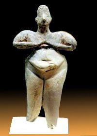 HACILAR Venus, c.6,000-5,500 BC