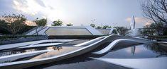 新希望堇麟上府 / QIDI栖地设计 Landscape Plans, Urban Landscape, Landscape Architecture, Landscape Design, Plaza Design, Outdoor Furniture, Outdoor Decor, Water Features, Sun Lounger