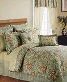 Sunham Flora and Fauna Floral 24 Piece Queen Comforter Room in a Bag S