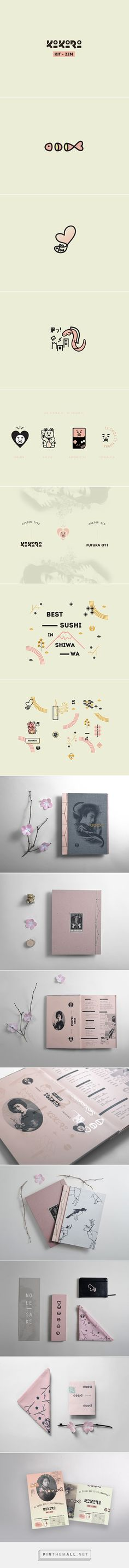 Kokoro kit zen on Behance | Fivestar Branding – Design and Branding Agency & Inspiration Gallery