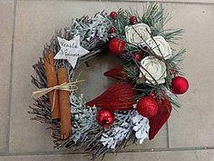 Dekorácie - Venček vianočný - 4875732_