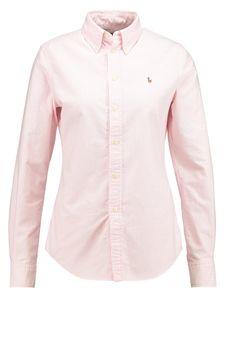Polo Ralph Lauren HARPER Hemdbluse pink/white Premium bei Zalando.de | Material Oberstoff: 100% Baumwolle | Premium jetzt versandkostenfrei bei Zalando.de bestellen!