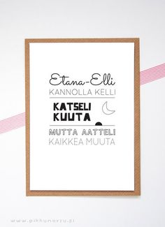 Lyrics posters and postcards from € Kids Songs, Letter Board, Lyrics, Printables, Lettering, Quotes, Poster, Diy, Postcards