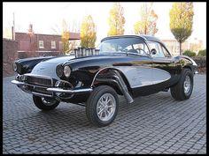 Classic Muscle Cars – Page 2 Chevrolet Corvette, 1961 Corvette, Chevy, Sexy Cars, Hot Cars, Rat Rods, Bugatti, Lamborghini, Ferrari