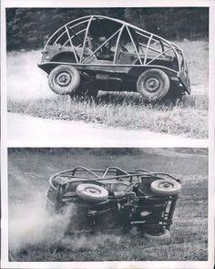 1954 Swedish Army Training Jeep Photo