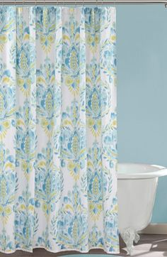 Dena Home 'Breeze' Shower Curtain available at #Nordstrom