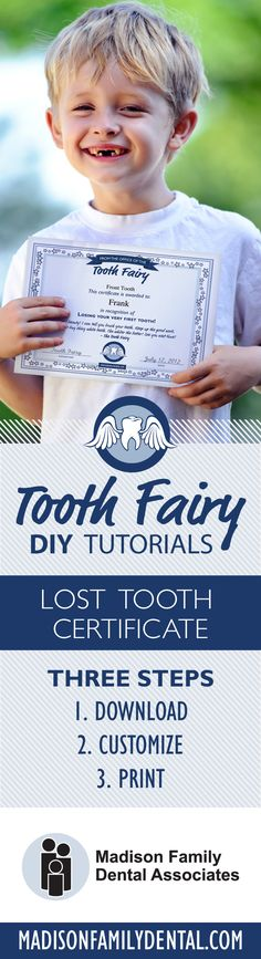 Fun, kid-friendly tooth fairy ideas to prepare for losing teeth and the much anticipated visit from the Tooth Fairy herself. Customize your Tooth Fairy Certificate Template! (free download)