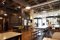 """「倉庫→カフェ / warehouse → cafe 」  SASAYA cafe/ササヤカフェ (墨田区/東京都)  """"http://living.ikigoto.com/cafe/  """""""